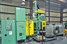 Toshiba model DC-350-CL-III cold chamber high pressure diecasting machine, new in 2000