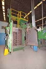 BCP Wheelabrator two Door Spinner Hanger Shot Blast Machine
