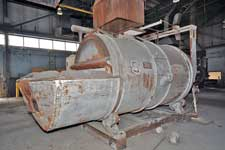 Seco Warwick Tilting Barrel Aluminum Melting Furnace