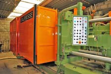 Italpresse Aluminum Die Cast Machine; Model IP 550 SC, 550 ton