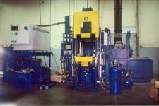 THT Aluminum Die Cast Machine; 200 ton