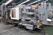 Toyo Aluminum Die Cast Machine; Model BD-500V4-N, 500 ton