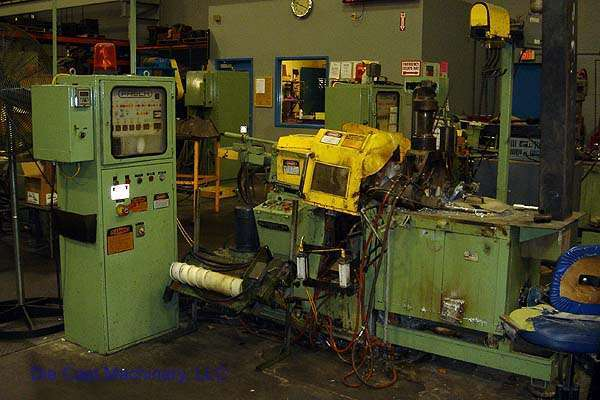 Picture of Frech DAW 5 Horizontal Hot Chamber Zinc (Zamak) High Pressure Die Casting Machine For Sale DCMP-1368