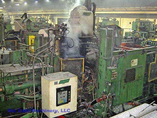 Picture of Prince 629 CCA Horizontal Cold Chamber Aluminum High Pressure Die Casting Machine For Sale DCMP-1413