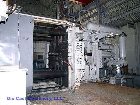 Picture of Prince  Horizontal Cold Chamber Magnesium High Pressure Die Casting Machine For Sale DCMP-1444