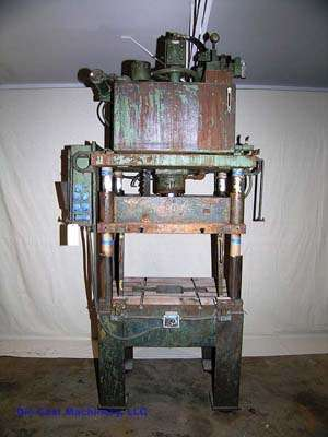 28 Ton, 4-Post Vertical Trim Press