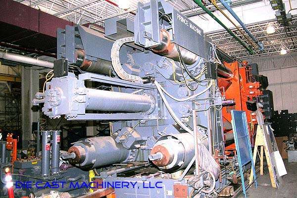 Picture of Prince Horizontal Cold Chamber Aluminum High Pressure Die Casting Machine DCMP-1478
