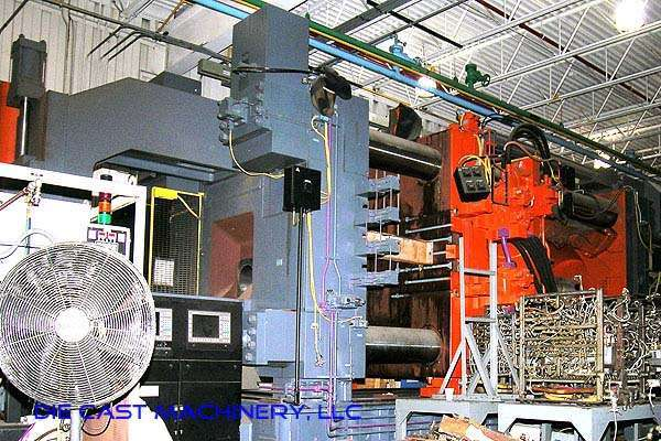 Image of Horizontal Cold Chamber Aluminum High Pressure Die Casting Machine For Sale DCM-1478