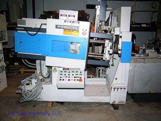 Picture of Frech DAW 20 S DCRC Horizontal Hot Chamber Zinc (Zamak) High Pressure Die Casting Machine For Sale DCMP-1527