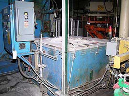 MS-600-MG, magnesium / aluminum melting furnace