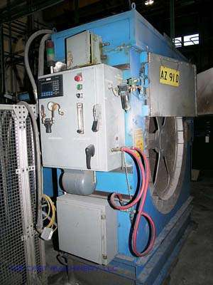 Picture of Dynarad RL-24 Electrically Heated Magnesium Ingot Preheater and Charging Unit For Sale DCMP-1609