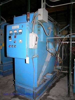 Picture of Dynarad Electrically Heated Magnesium Ingot Preheater and Charging Unit DCMP-1609
