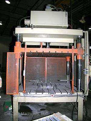 Four Post Vertical Trim Press, new 2005