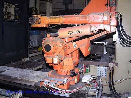 7 Axis Foundry Plus Robot for Extracting, New 2001