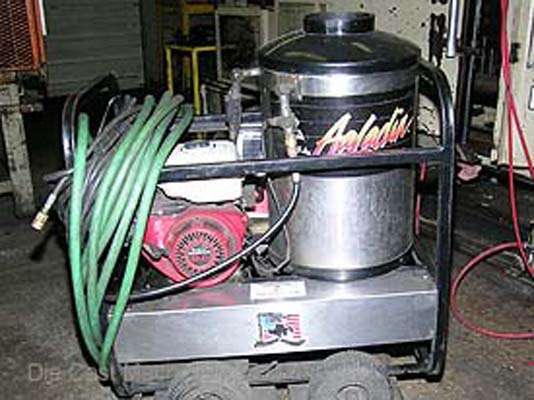 how to build a high pressure steam cleaner