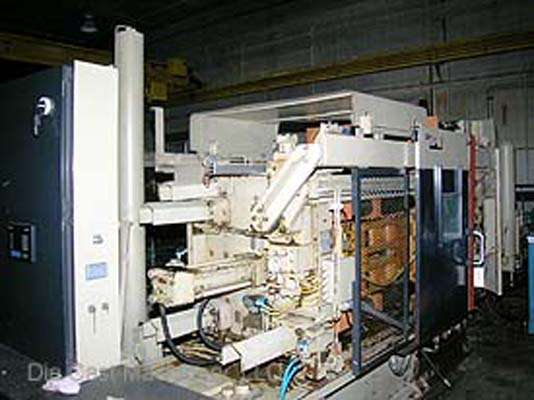 Picture of HPM II-400-A Horizontal Cold Chamber Aluminum/Magnesium Capable High Pressure Die Casting Machine For Sale DCMP-1789