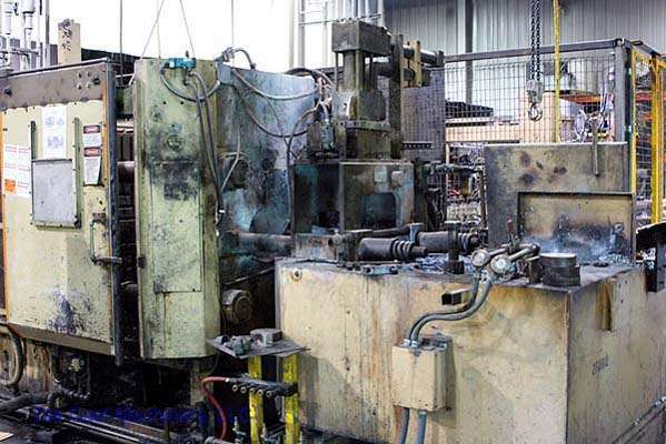 Picture of HPM II-400-Z Horizontal Hot Chamber Zinc (Zamak) High Pressure Die Casting Machine For Sale DCMP-1836