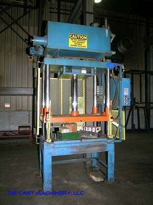 50 Ton Vertical Trim Press, New 1996