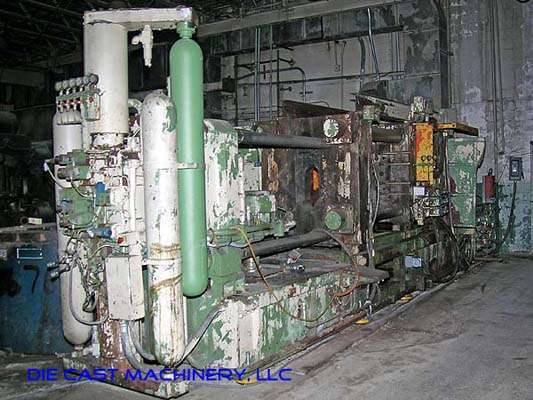 Picture of Italpresse IP-750 SC Horizontal Cold Chamber Aluminum High Pressure Die Casting Machine For Sale DCMP-1889