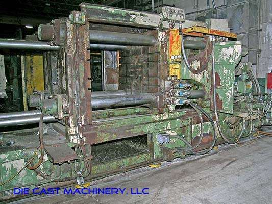 Picture of Italpresse Horizontal Cold Chamber Aluminum High Pressure Die Casting Machine DCMP-1889