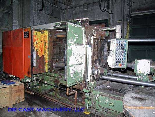 Image of Horizontal Cold Chamber Aluminum High Pressure Die Casting Machine For Sale DCM-1889