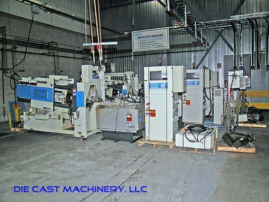 Picture of Frech DAW 50 S DCRC Horizontal Hot Chamber Zinc (Zamak) High Pressure Die Casting Machine For Sale DCMP-1892
