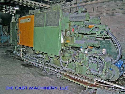 Picture of Italpresse Horizontal Cold Chamber Aluminum High Pressure Die Casting Machine DCMP-1894