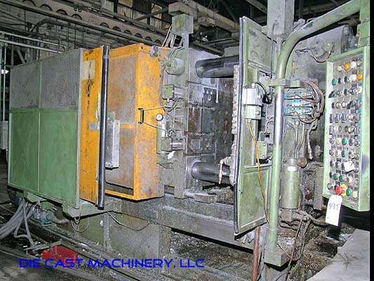 Image of Horizontal Cold Chamber Aluminum High Pressure Die Casting Machine For Sale DCM-1894