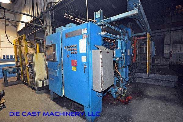 Picture of Prince 940 CCA Horizontal Cold Chamber Aluminum High Pressure Die Casting Machine For Sale DCMP-1908