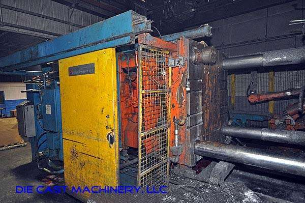 Image of Horizontal Cold Chamber Aluminum High Pressure Die Casting Machine For Sale DCM-1908
