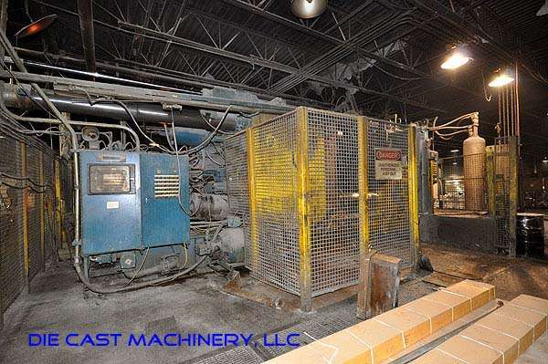 Picture of Prince 2057 CCA Horizontal Cold Chamber Aluminum High Pressure Die Casting Machine For Sale DCMP-1909