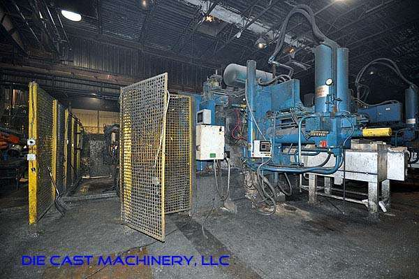 Picture of Prince 1651 CCA Horizontal Cold Chamber Aluminum High Pressure Die Casting Machine For Sale DCMP-1911