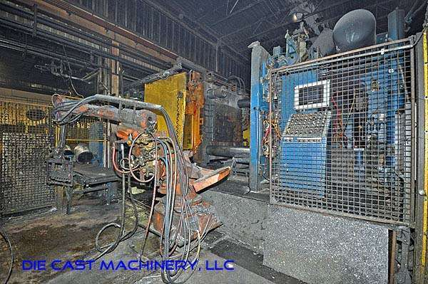Picture of Prince Horizontal Cold Chamber Aluminum High Pressure Die Casting Machine DCMP-1911