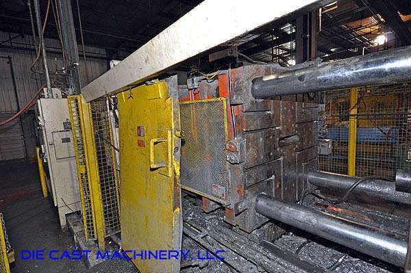 Picture of Prince 633 CCA Horizontal Cold Chamber Aluminum High Pressure Die Casting Machine For Sale DCMP-1923