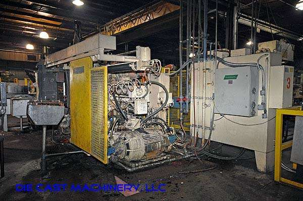 Picture of Prince Horizontal Cold Chamber Aluminum High Pressure Die Casting Machine DCMP-1923
