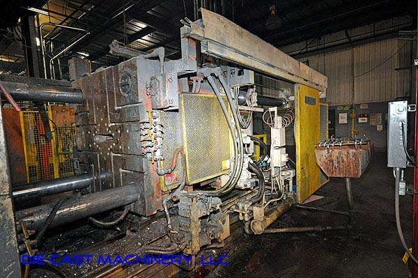 Image of Horizontal Cold Chamber Aluminum High Pressure Die Casting Machine For Sale DCM-1923