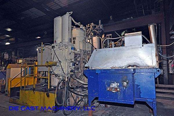 Image of Horizontal Cold Chamber Aluminum High Pressure Die Casting Machine For Sale DCM-1924