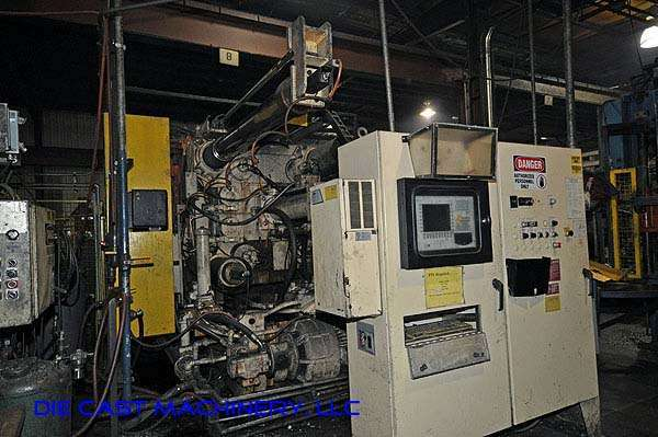 Picture of Prince 1246 CCA Horizontal Cold Chamber Aluminum High Pressure Die Casting Machine For Sale DCMP-1925