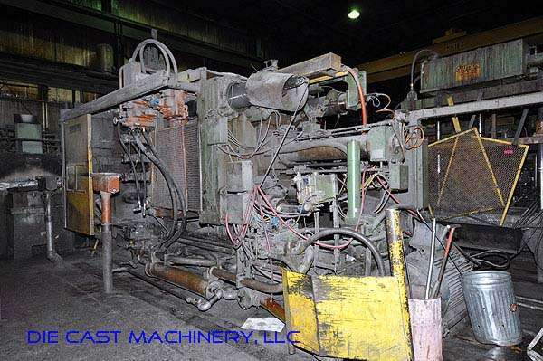 Picture of Prince Horizontal Cold Chamber Aluminum High Pressure Die Casting Machine DCMP-1959