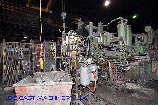 Image of Horizontal Cold Chamber Aluminum High Pressure Die Casting Machine For Sale DCM-1961