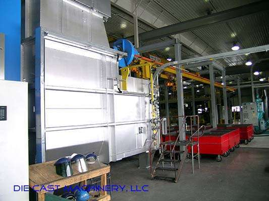 2000 MH 3000/2000 shaft type melting holding furnace