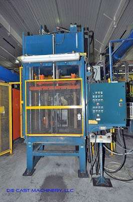 35 Ton Four Post Vertical Trim Press