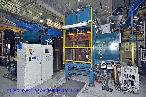 Picture of Ube UA 900it Horizontal Cold Chamber Aluminum High Pressure Die Casting Machine For Sale DCMP-2051