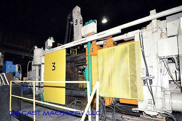 Picture of Prince 1246 CCA Horizontal Cold Chamber Aluminum High Pressure Die Casting Machine For Sale DCMP-2124