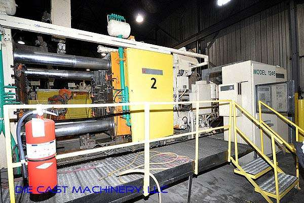 Picture of Prince 1246 CCA Horizontal Cold Chamber Aluminum High Pressure Die Casting Machine For Sale DCMP-2125