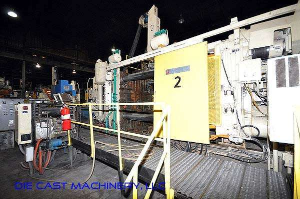 Picture of Prince Horizontal Cold Chamber Aluminum High Pressure Die Casting Machine DCMP-2125
