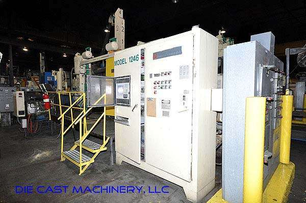 Image of Horizontal Cold Chamber Aluminum High Pressure Die Casting Machine For Sale DCM-2125