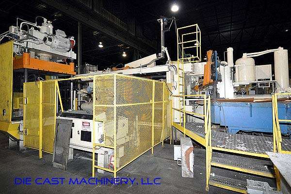 Image of Horizontal Cold Chamber Aluminum High Pressure Die Casting Machine For Sale DCM-2127
