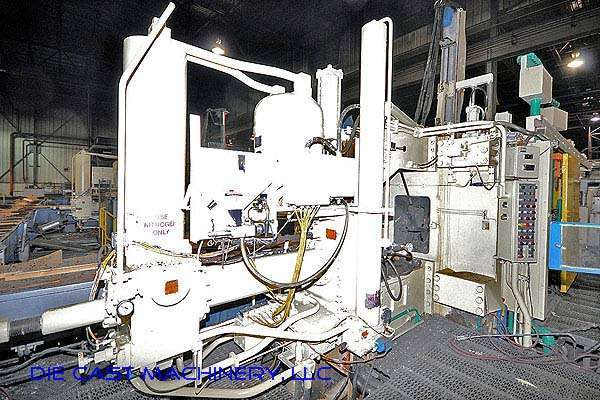 Picture of Prince Horizontal Cold Chamber Aluminum High Pressure Die Casting Machine DCMP-2128