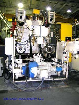 Picture of Prince Horizontal Cold Chamber Aluminum High Pressure Die Casting Machine DCMP-2140